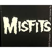 Misfits- Glow In The Dark 80's Logo Enamel Pin (MP392)