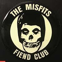 Misfits- Glow In The Dark Fiend Club Enamel Pin (MP389)
