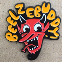 Beelzebuddy! Enamel Pin by Graveface (mp14)