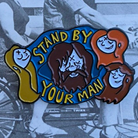 Stand By Your Man(son) Enamel Pin by Graveface (mp26)