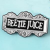 Beetlejuice Logo Enamel Pin (mp343)
