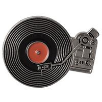 Turntable Enamel Pin (mp345)
