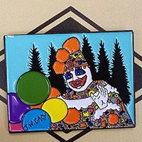 John Wayne Gacy- Pogo Enamel Pin by Graveface (mp428)