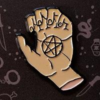 Ramirez Hand Enamel Pin by Graveface (mp57)