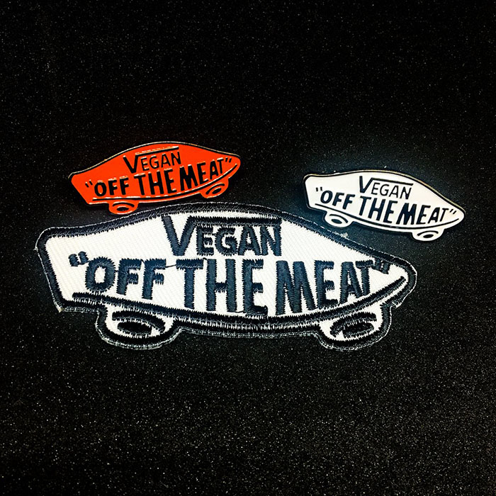 Off The Meat Vegan Patch by Bort's Pin Emporium (EP799)