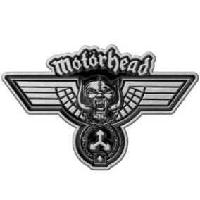 Motorhead- Hammered Enamel Pin (mp20)
