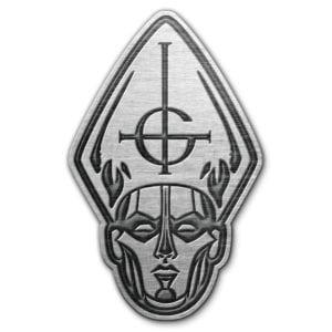 Ghost- Papa Head Enamel Pin (mp343)