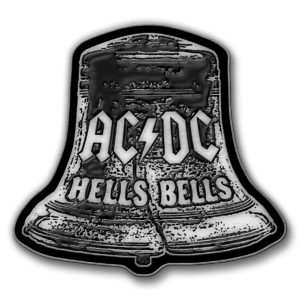 AC/DC- Hell's Bells Enamel Pin (mp349)