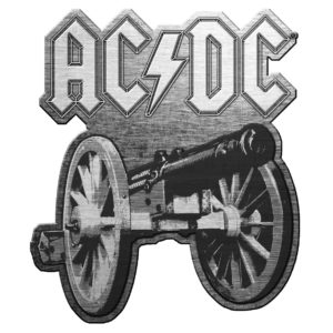 AC/DC- For Those About To Rock Enamel Pin (mp10)