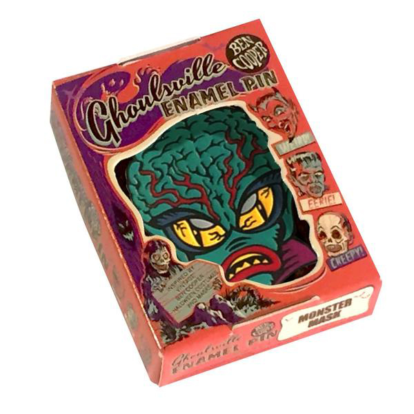 Alien Master Ghoulsville Enamel Pin by Retro-A-Go-Go (MP155)