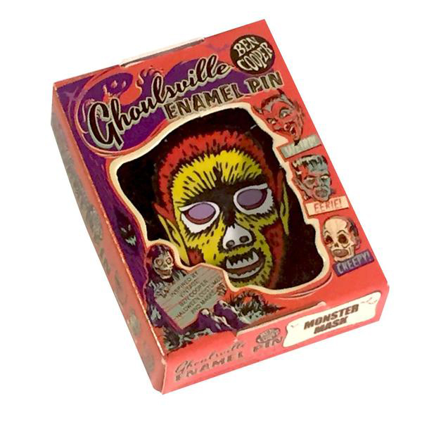 Electric Wolfman Ghoulsville Enamel Pin by Retro-A-Go-Go (MP158)