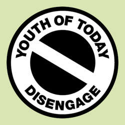 Youth Of Today- Disengage pin (pinX468)