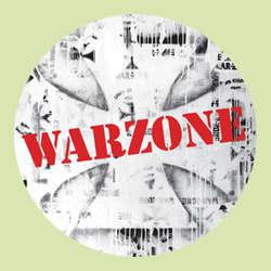 Warzone- Red Stencil Logo pin (pinX487)