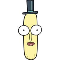 Rick & Morty- Mr Poopybutthole Enamel Pin (mp315)