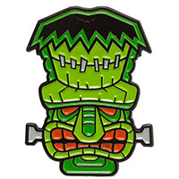 Tiki Monster Enamel Pin by Sourpuss (mp375)