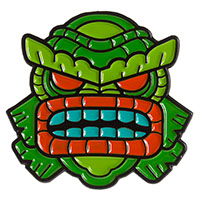 Tiki Creature Enamel Pin by Sourpuss (mp377)