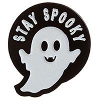 Stay Spooky Ghost Enamel Pin by Sourpuss (MP403)