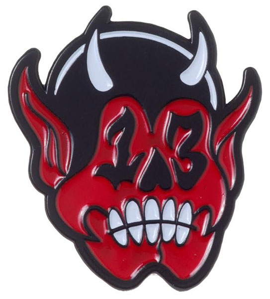 Enamel Devil Pin by Sourpuss (MP13)