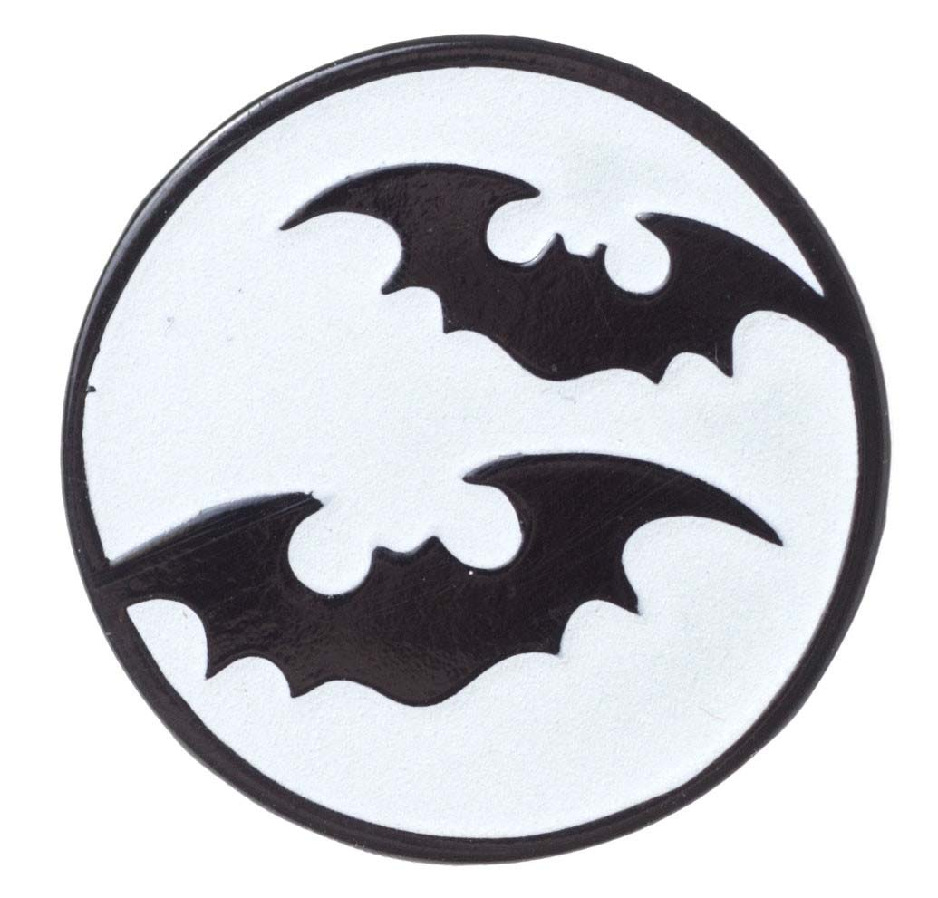 Bat Moon Pin by Sourpuss (MP174)