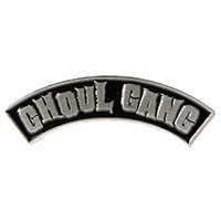 Enamel Ghoul Gang Pin by Sourpuss (mp270)