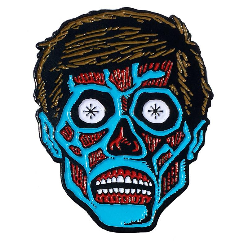 They Live Enamel Pin by Scumbags & Superstars (mp244)