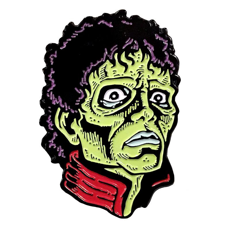 Thriller Enamel Pin by Scumbags & Superstars (mp249)