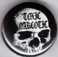 Toxic Narcotic- Skull pin (pinX193)
