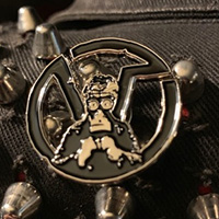Virus- Gas Mask Enamel Pin (MP78)