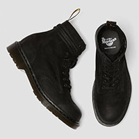 8 Eye Pascal Titan Boots in BLACK by Dr. Martens (MADE IN ENGLAND!)