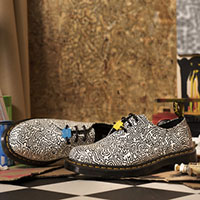 * Keith Haring 3 Eye Shoes by Dr. Martens