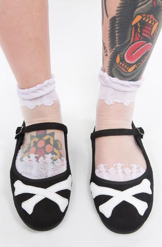 Hey You Guys Velvet Chinese Crossbone Slipper - by Iron Fist - SALE