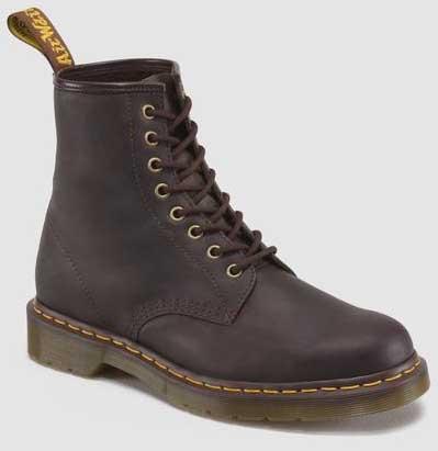 8 Eye Gaucho Crazy Horse Dr. Martens Boots