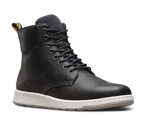 8 Eye DM Lite Rigal Boot by Dr. Martens- Black (Lightweight) (Sale price!)