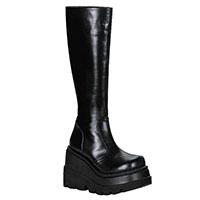 Shaker-100 Goth Punk Lolita Vegan Boot by Demonia Footwear