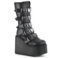Swing 230 Knee High Vegan Boot by Demonia Footwear