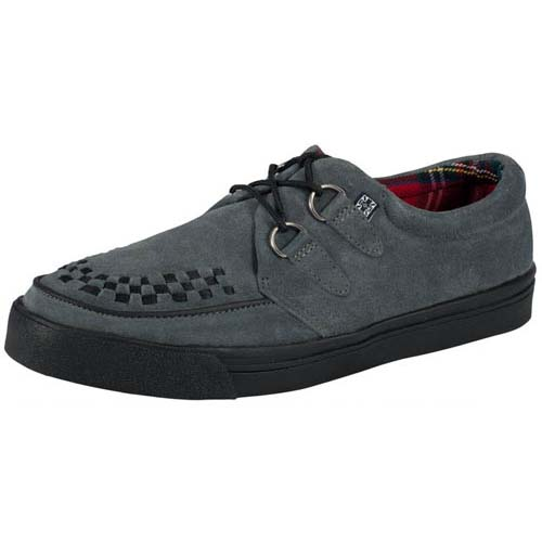 Grey Suede creeper style sneaker by Tred Air UK (Sale price!)