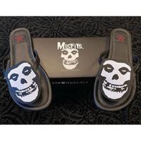 Betty Misfits Skull Flip flop Sandal by Strange Cvlt