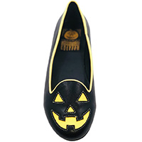 Lydia Jackolantern Limited Edition Flat by Strange Cvlt - Black / Orange Glow in the Dark - SALE