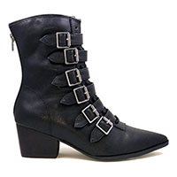 Coven Boot by Strange Cvlt - in Black