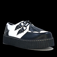 Krypt White Web Limited Edition Creepers by Strange Cvlt
