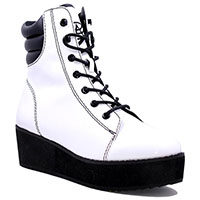 Darby Boot by Strange Cvlt - in white - SALE