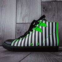 Chelsea Dre Ronayne Beetleshoe High Top Sneaker Collab by Strange Cvlt - sz 7 & 10 only
