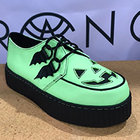 Krypt Halloween Limited Edition Creepers by Strange Cvlt - in Glow in the Dark