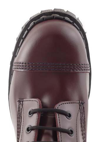 1189802a9b4d 10 Eye Steel Toe Boot in OXBLOOD by Gripfast (Made In England!)