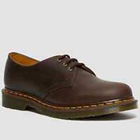 3 Eye Brown Crazy Horse Shoe by Dr. Martens