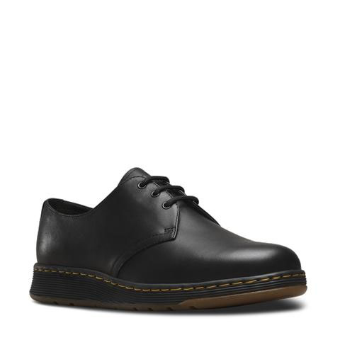 3 Eye DM Lite Cavendish Shoe by Dr. Martens- Black (Lightweight) (Sale price!)