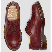 Oxblood Brogue by Dr. Martens (Made In England)