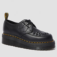 Sidney Creeper in Black Leather by Dr. Martens