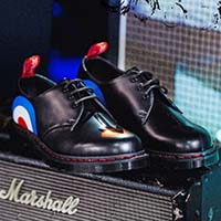 The Who- 3 Eye Gibson by Dr. Martens