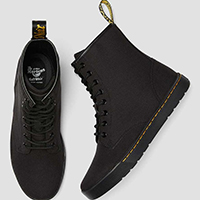 Cairo Canvas 8 Eye Boots by Dr. Martens (Non-Leather)